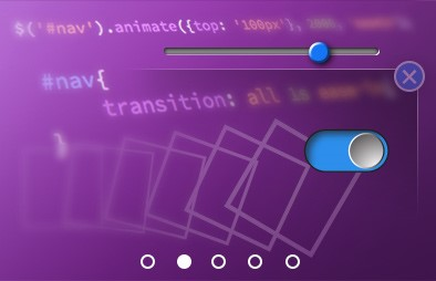 Various graphics of html elements