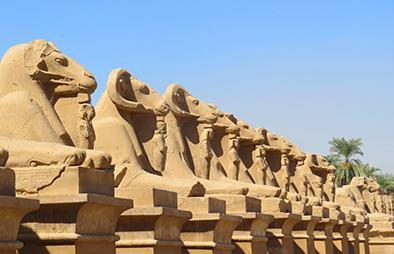 Statues from the Nile River Valley